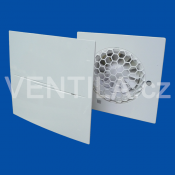 Větrák Vents 100 Quiet-Style TH přední pohled