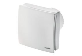 Ventilátor do koupelny s el. žaluzií ECA 100 ipro KVZC (Nastavitelný doběh)