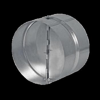 Pozink zpětná klapka s pérkem DN 315 / spojka