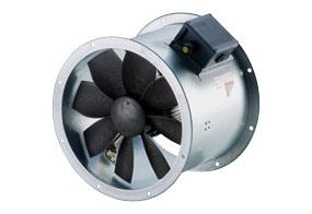 Axiální potrubní ventilátor DZR 25/4 B E Ex e