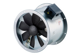 Axiální potrubní ventilátor DZR 35/4 B E Ex e