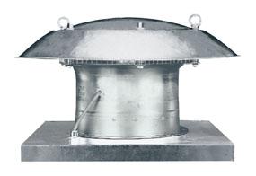 Axiální střešní ventilátor DZD 50/4 B E Ex e
