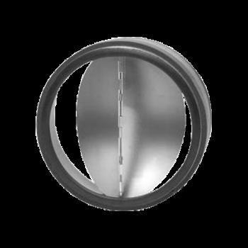 Zpětná klapka těsná s pérkem do potrubí Ø 150 mm / do potrubí