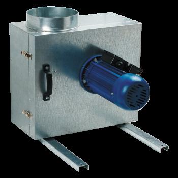 Izolovaný ventilátor v boxu Vents KSK 160 4E