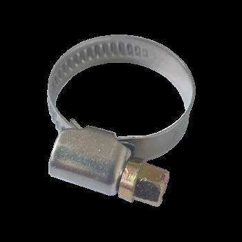 Spona hadicová 9mm 16–25mm, nerez W2