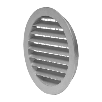 Mřížka kruhová hliníková se sítem DN 125 mm