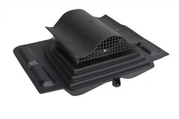 KTV ventilační prvek univerzální plechový profil, černá RAL 9005