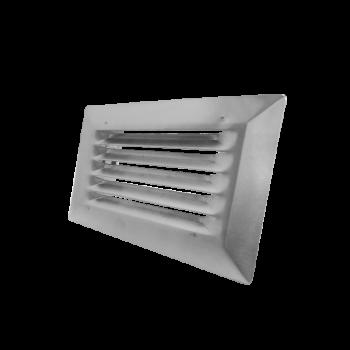 Nerezová větrací mřížka VP MVM 55x110 BR pro ploché potrubí