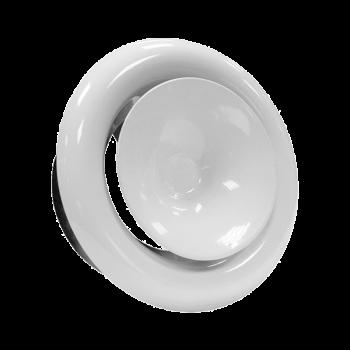 Kovový talířový ventil KKP Ø 100 přívod