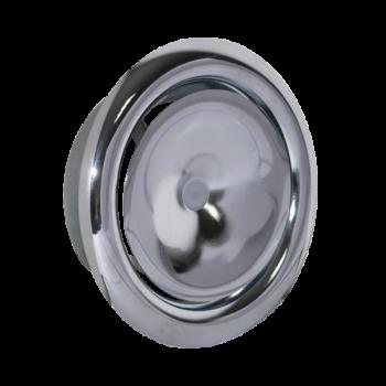 Talířový ventil přívodní KN-S Ø 160 mm - chrom