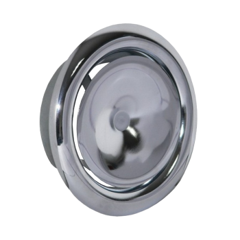 Talířový ventil přívodní KN-S Ø 100 mm - chrom